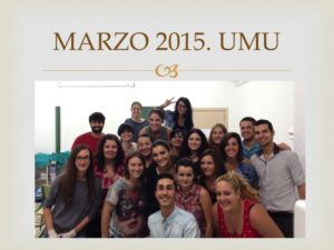 """I SEMINARIO CURSO CIRUGIA MENOR"""". Celebrado en la Escuela Práctica de Enfermería de la Universidad de Murcia. Marzo 2015"""
