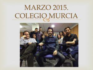 I CURSO CIRUGIA MENOR PARA ENFERMERIA I. Organizado por el Colegio de Enfermería de la Región de Murcia. Sede Murcia. Marzo 2015.