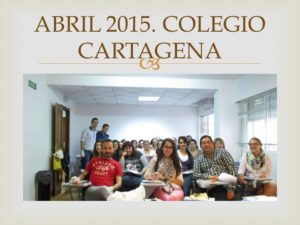 I CURSO CIRUGIA MENOR PARA ENFERMERIA I. Organizado por el Colegio de Enfermería de la Región de Murcia. Sede Cartagena. Abril 2015.