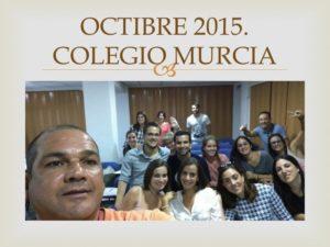 II CURSO CIRUGIA MENOR PARA ENFERMERIA II. Organizado por el Colegio de Enfermería de la Región de Murcia. Sede Murcia. Octubre 2015.