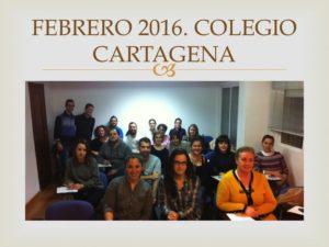 II CURSO CIRUGIA MENOR PARA ENFERMERIA II. Organizado por el Colegio de Enfermería de la Región de Murcia. Sede Cartagena. Febrero 2016.
