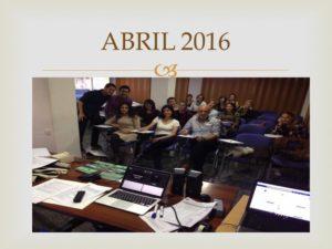 Abril 2016. Colegio Murcia