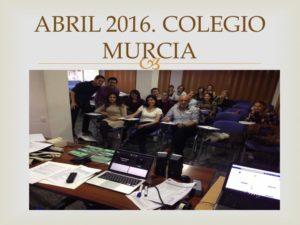 III CURSO CIRUGIA MENOR PARA ENFERMERIA III. Organizado por el Colegio de Enfermería de la Región de Murcia. Sede Murcia. Abril 2016.
