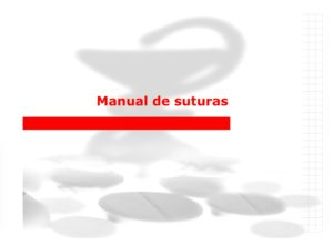 Manual Cirugia Menor