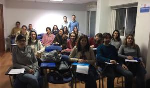 Curso Cirugia Menor organizado por el Colegio de Enfermería de la Región de Murcia. Sede Cartagena en Marzo de 2017.