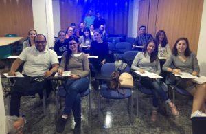 Curso Cirugia Menor y Suturas modalidad mixta organizado por el Colegio de Enfermería de la Región de Murcia. Sede Murcia en Noviembre de 2017.